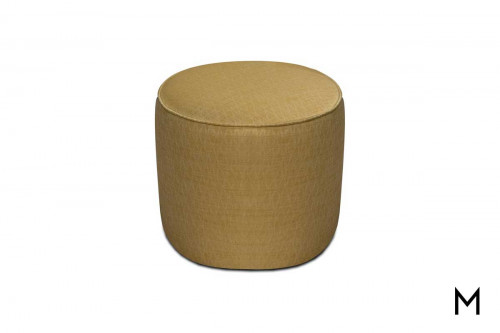 Asher Small Ottoman in Nimah Gold