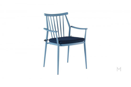 Darrow Arm Chair in Blue