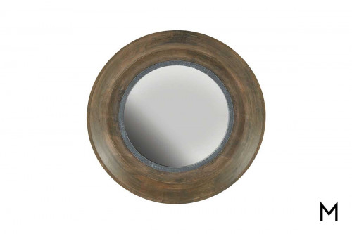 Brown Washed Wall Mirror
