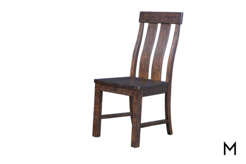 Henderson Side Chair in Muscavado Brown