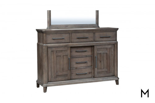 Artisan Prairie Chesser with 6 Drawers & 2 Doors