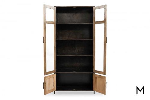 Dominic Tall Cabinet in Oak