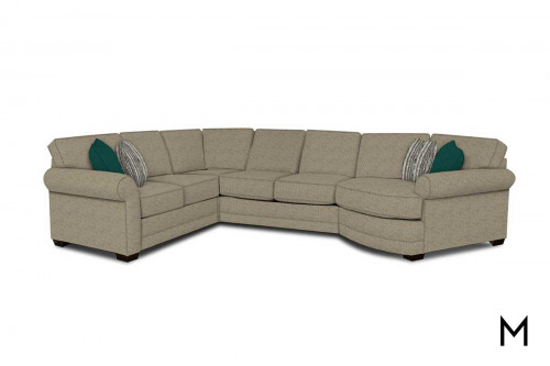 Brentwood Sectional with Cuddle Corner