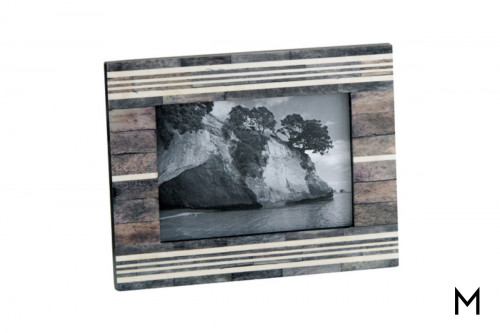 "Horn and Bone 4"" x 6"" Picture Frame"