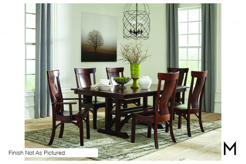 Rialto Five-Piece Dining Set with Four Side Chairs