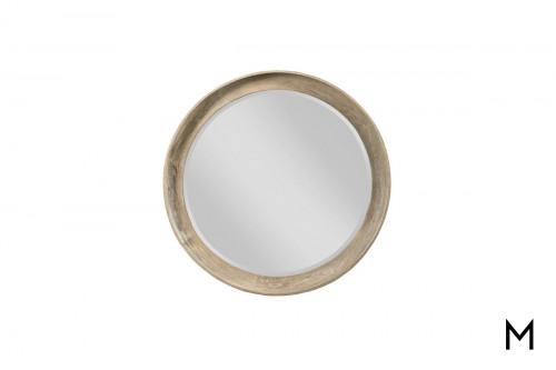 Sand Round Mirror