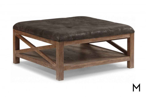 Hampton Upholstered Cocktail Table