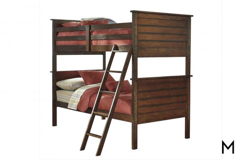 Ladiville Twin Bunk Bed