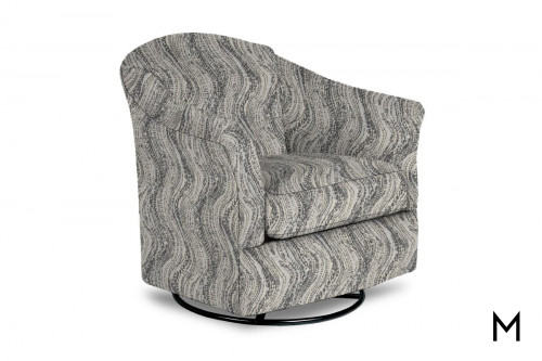Darby Dune Swivel Barrel Chair