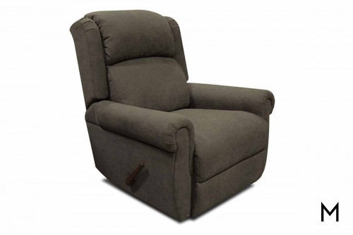 EZ Motion Swivel Gliding Recliner in Werebear Khaki