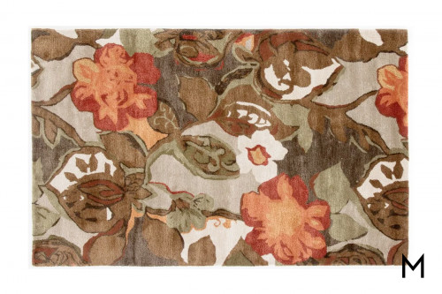 Petal Pusher Area Rug 5' x 8'