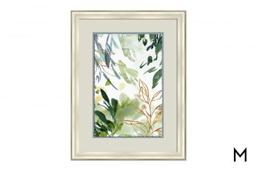 Flourishing Green Watercolor