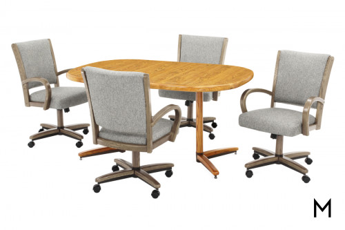 Square Round Dining Table
