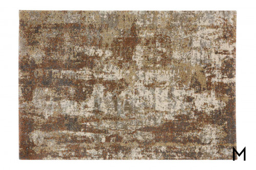 Abstract Spice Area Rug 8'x10'