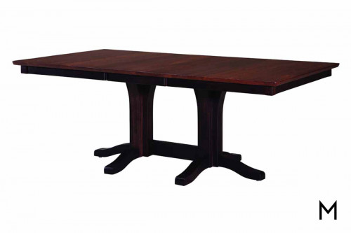 Norfolk Double Pedestal Dining Table