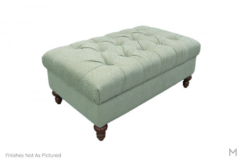 Allure Storage Ottoman featuring Button Tufting