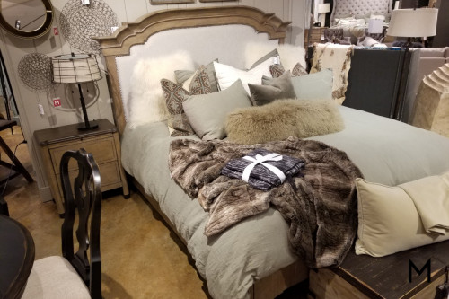 King Size Bed and Nightstand Set