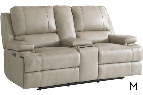 Parker Loveseat with Console