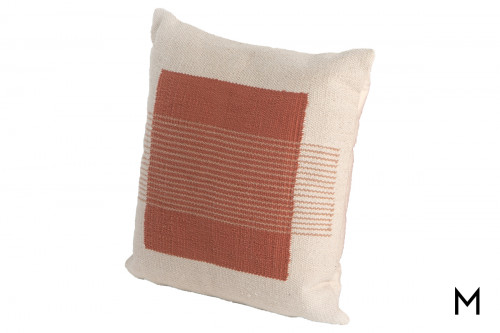 """Color Block 20"""" Square Throw Pillow"""