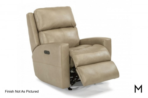 Catalina Power Recliner with Power Headrest in Leather