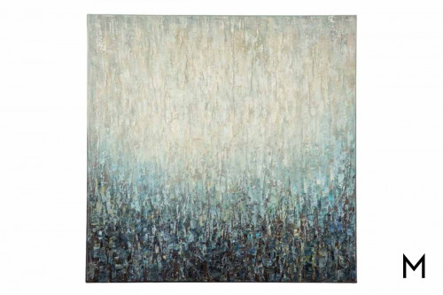 Blue Pearl Wall Art on Canvas