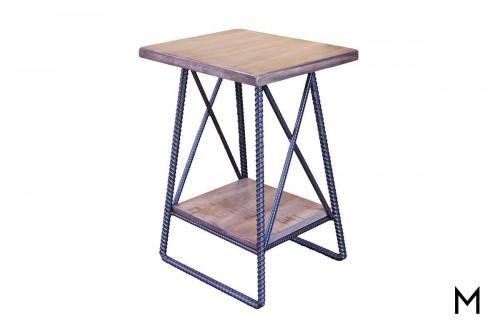 Rebar Chairside Table