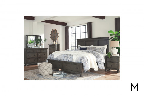 Devensted Queen 4 Piece Bedroom Set with Storage Footboard
