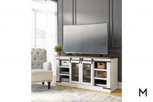 Wystfield Large TV Stand with Shelves