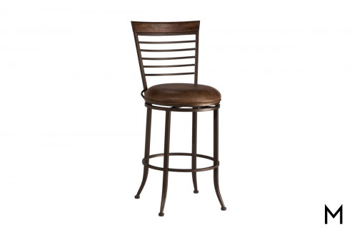 Terrell Swivel Stool in Counter Height