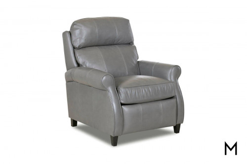 Leslie Power Recliner in Nomad Charcoal