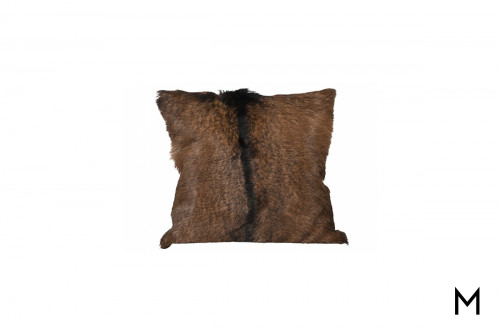 Hair-On-Hide Accent Pillow