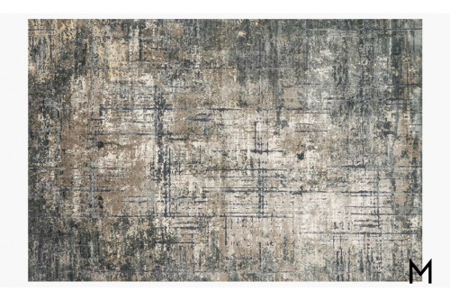 Cascade Area Rug 8'x10' in Marine and Grey