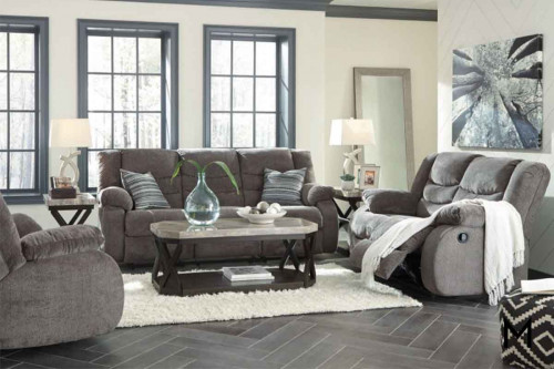 Tulen Rocker Recliner in Grey