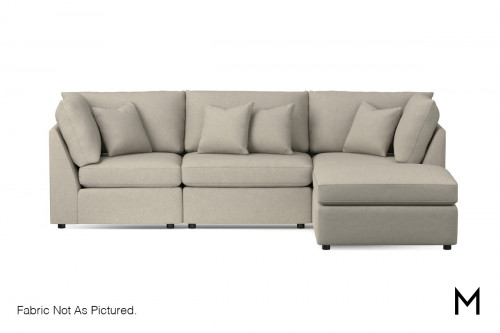 Chaise 3-Piece Sectional Sofa