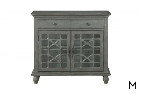 Accent Storage Cabinet with Two Drawers