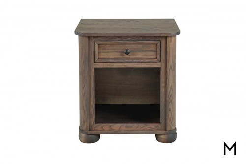 Kingsport Open Bottom Nighstand with Drawer