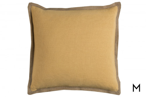 Varsity Decorative Pillow with Zipper Closure