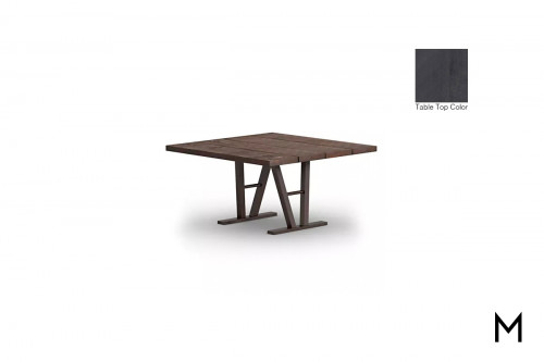 "Square 48"" Timber Dining Table"