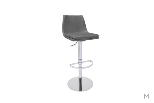 Montecarlo Swivel Bar Stool in Gray