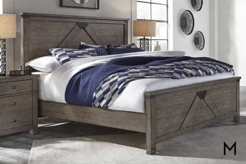 Tucker King Panel Bed