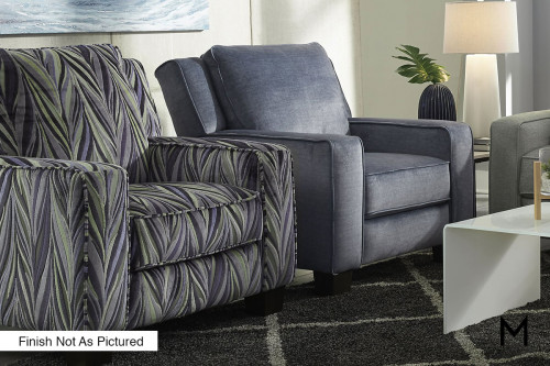 M Collection West End Power Recliner With High Legs
