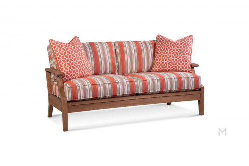 Coral Cozy Patio Sofa