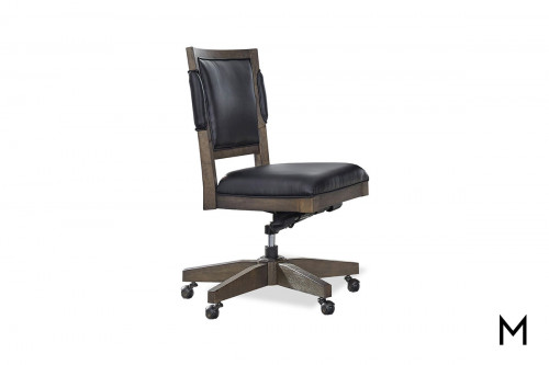 Harper Point Office Chair with Padded Seat and Back