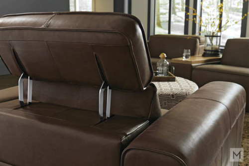 Power Recliner with Power Headrest and Recline