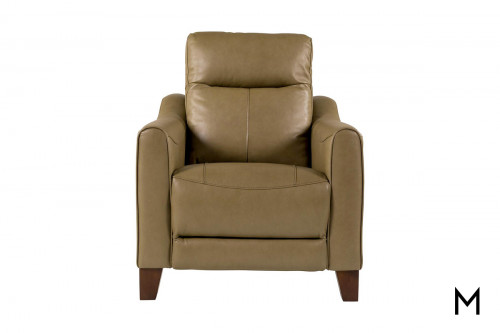 Forte Power Headrest Recliner in Mushroom