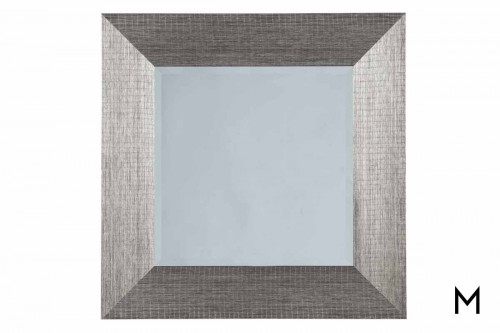 Duka Wall Mirror in Silver