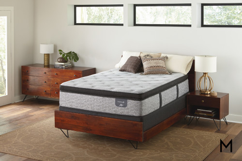 Serta Fountain Hills Firm Euro Top Hybrid Full Mattress