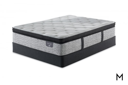 Serta Fountain Hills Firm Euro Top Hybrid TwinXL Mattress