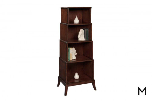 Stacked Four Tier Bookcase