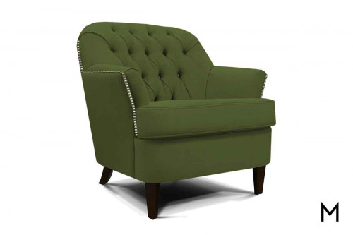 Teagan Accent Chair in Vette Jade